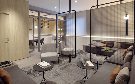 Coworking - Fachada - Haus Mitre Santa Cruz - Studios NR - 1106 - 9