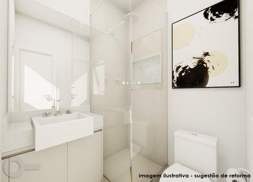 Banheiro - Apartamento 2 quartos à venda Lagoa, Rio de Janeiro - R$ 1.240.000 - II-19791-32935 - 4