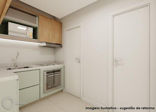 Cozinha - Apartamento 2 quartos à venda Lagoa, Rio de Janeiro - R$ 1.240.000 - II-19791-32935 - 6