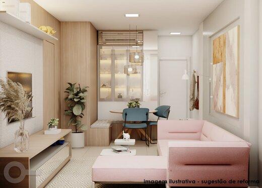 Living - Apartamento 2 quartos à venda Lagoa, Rio de Janeiro - R$ 1.240.000 - II-19791-32935 - 7