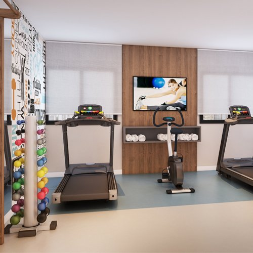 Fitness - Fachada - Residencial Villa Sardenha - 1053 - 3