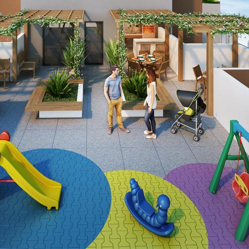 Playground - Fachada - Residencial Villa Sardenha - 1053 - 9