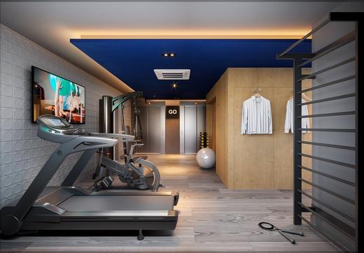 Fitness - Studio à venda Rua Dom Manuel,Campo Belo, Zona Sul,São Paulo - R$ 282.410 - II-19858-33052 - 5