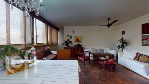 Living - Apartamento 3 quartos à venda Jardim Paulista, São Paulo - R$ 1.135.000 - II-19916-33157 - 20