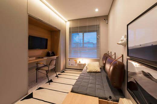 Dormitorio - Fachada - Highlights Campo Belo - Residencial - 1060 - 8
