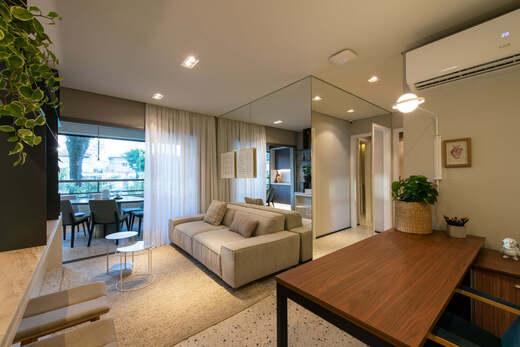 Living - Fachada - Highlights Campo Belo - Residencial - 1060 - 4
