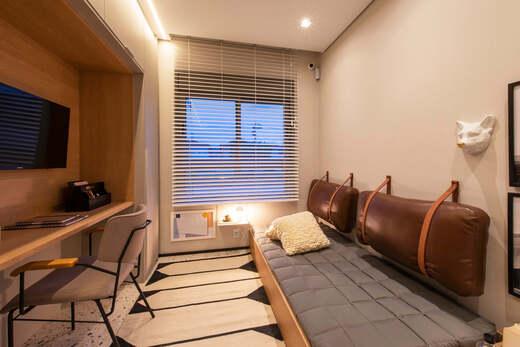 Dormitorio - Fachada - Highlights Campo Belo - Residencial - 1060 - 9