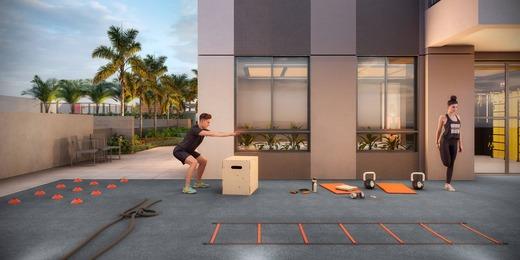 Fitness externo - Fachada - Highlights Campo Belo - Residencial - 1060 - 15