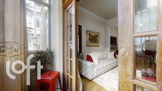 Living - Apartamento 2 quartos à venda Botafogo, Rio de Janeiro - R$ 785.000 - II-19985-33274 - 21