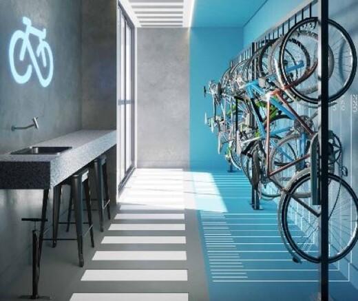 Bicicletario - Fachada - DNA Vila Mariana by You - NR - Breve Lançamento - 1067 - 17