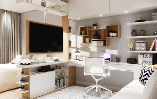 Dormitorio - Fachada - Smart Living Santana - 1073 - 2