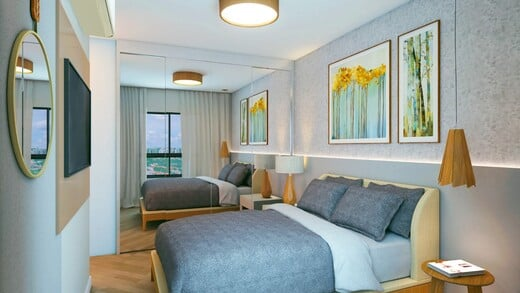 Dormitorio - Fachada - Practical Life Campo Belo II - 1108 - 6