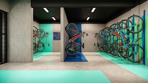 Bicicletario - Fachada - Practical Life Campo Belo II - 1108 - 15
