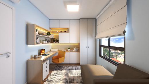 Dormitorio - Fachada - Practical Life Campo Belo II - 1108 - 7