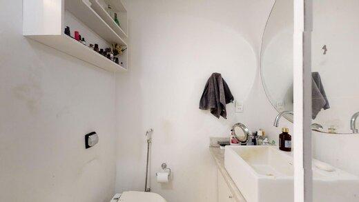 Banheiro - Apartamento 2 quartos à venda Lagoa, Rio de Janeiro - R$ 1.245.000 - II-20216-33629 - 24