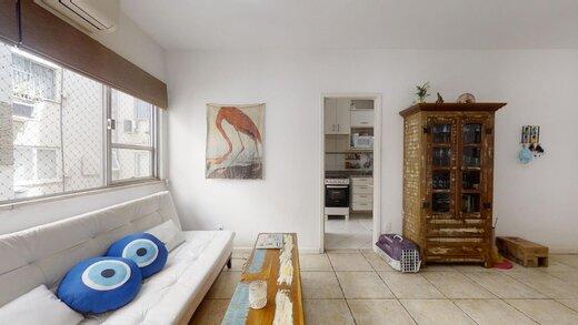 Living - Apartamento 2 quartos à venda Lagoa, Rio de Janeiro - R$ 1.245.000 - II-20216-33629 - 1
