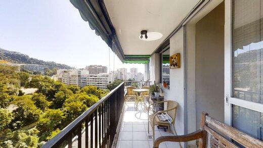 Living - Apartamento 1 quarto à venda Laranjeiras, Rio de Janeiro - R$ 1.375.000 - II-20220-33633 - 13