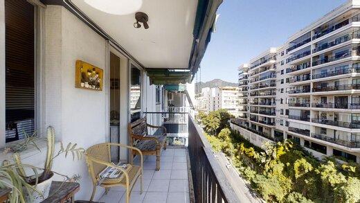 Living - Apartamento 1 quarto à venda Laranjeiras, Rio de Janeiro - R$ 1.375.000 - II-20220-33633 - 1