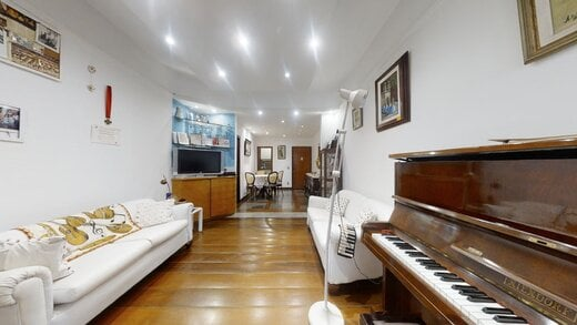 Living - Apartamento 2 quartos à venda Botafogo, Rio de Janeiro - R$ 875.000 - II-20222-33635 - 8