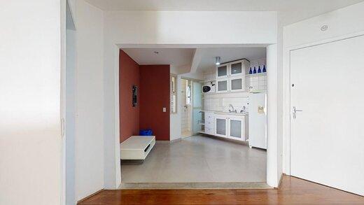 Living - Apartamento à venda Rua Fradique Coutinho,Vila Madalena, São Paulo - R$ 767.000 - II-20232-33645 - 8
