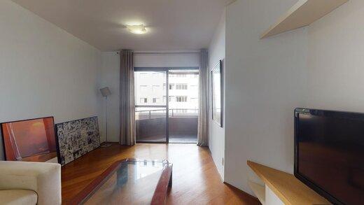 Living - Apartamento à venda Rua Fradique Coutinho,Vila Madalena, São Paulo - R$ 767.000 - II-20232-33645 - 1