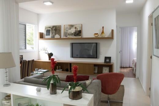 Living - Apartamento à venda Rua Alexandre Benois,Vila Andrade, São Paulo - R$ 597.910 - II-20244-33661 - 5