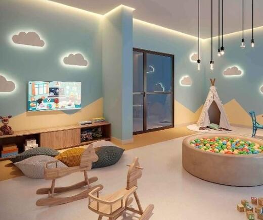 Brinquedoteca - Studio à venda Avenida Afonso Mariano Fagundes,Vila da Saúde, São Paulo - R$ 292.800 - II-20281-33712 - 11