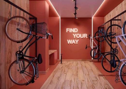 Bicicletario - Studio à venda Avenida Afonso Mariano Fagundes,Vila da Saúde, São Paulo - R$ 292.800 - II-20281-33712 - 20