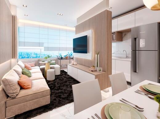 Living - Apartamento à venda Rua Sapetuba,Butantã, Zona Oeste,São Paulo - R$ 385.288 - II-20306-33769 - 6