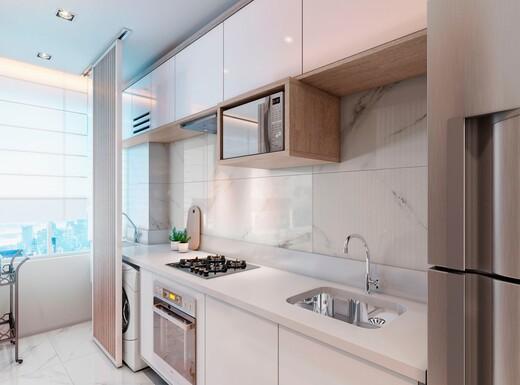 Cozinha - Apartamento à venda Rua Sapetuba,Butantã, Zona Oeste,São Paulo - R$ 385.288 - II-20306-33769 - 8