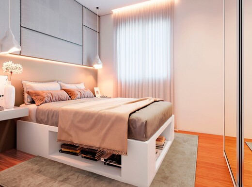 Dormitorio - Apartamento à venda Rua Sapetuba,Butantã, Zona Oeste,São Paulo - R$ 385.288 - II-20306-33769 - 10