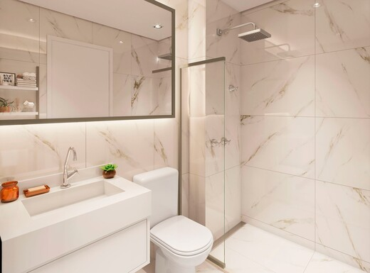 Banheiro - Apartamento à venda Rua Sapetuba,Butantã, Zona Oeste,São Paulo - R$ 385.288 - II-20306-33769 - 12