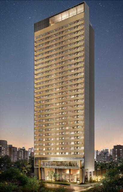 Fachada - Studio à venda Rua Ministro Gabriel de Rezende Passos,Moema, São Paulo - R$ 532.438 - II-20334-33836 - 1