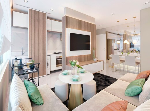 Living - Apartamento à venda Rua Sapetuba,Butantã, Zona Oeste,São Paulo - R$ 385.288 - II-20306-33769 - 7