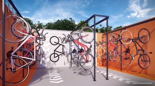 Bicicletario - Fachada - Forlife Vila Ema - 1158 - 11