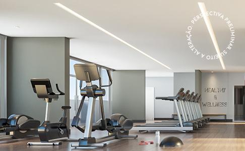 Fitness - Apartamento à venda Rua Alcatrazes,Saúde, São Paulo - R$ 1.550.000 - II-20557-34161 - 4