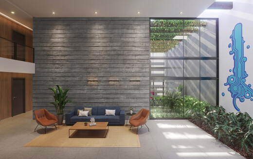Hall - Studio à venda Rua Alameda Barros,Santa Cecília, São Paulo - R$ 306.300 - II-20653-35545 - 4