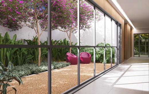 Hall - Studio à venda Rua Alameda Barros,Santa Cecília, São Paulo - R$ 306.300 - II-20653-35545 - 5