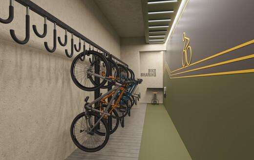 Bicicletario - Studio à venda Rua Alameda Barros,Santa Cecília, São Paulo - R$ 306.300 - II-20653-35545 - 11