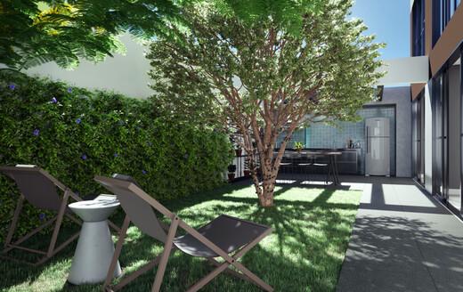 Churrasqueira - Studio à venda Rua Alameda Barros,Santa Cecília, São Paulo - R$ 306.300 - II-20653-35545 - 12