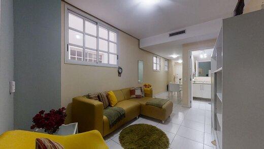 Living - Apartamento 1 quarto à venda Copacabana, Rio de Janeiro - R$ 649.000 - II-20827-34604 - 1
