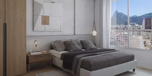 Dormitorio - Apartamento 2 quartos à venda Rio de Janeiro,RJ - R$ 2.042.800 - II-20814-34592 - 3