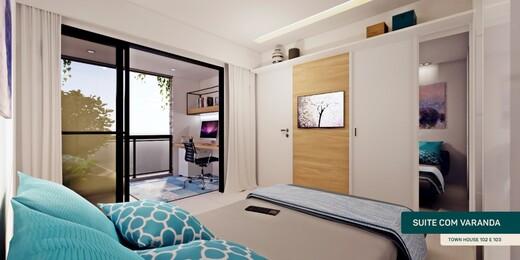 Dormitorio - Casa em Condomínio 3 quartos à venda Rio de Janeiro,RJ - R$ 1.198.008 - II-21080-35016 - 9