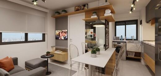 Living - Fachada - Go Barra Funda - Residencial - Breve Lançamento - 1153 - 3