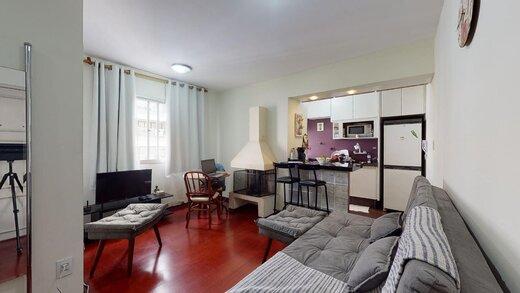 Living - Apartamento à venda Rua Estado de Israel,Vila Clementino, Zona Sul,São Paulo - R$ 609.233 - II-21215-35251 - 4