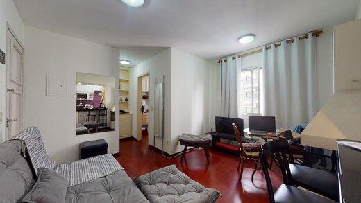 Living - Apartamento à venda Rua Estado de Israel,Vila Clementino, Zona Sul,São Paulo - R$ 609.233 - II-21215-35251 - 5