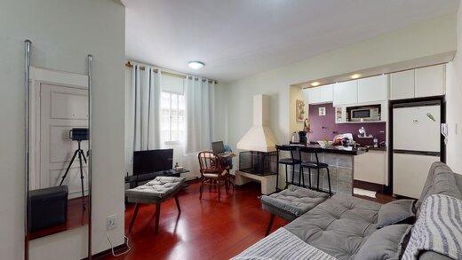 Living - Apartamento à venda Rua Estado de Israel,Vila Clementino, Zona Sul,São Paulo - R$ 609.233 - II-21215-35251 - 6