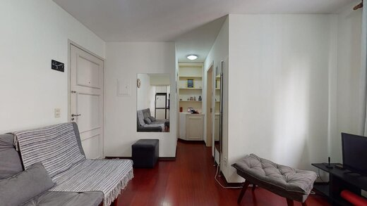 Living - Apartamento à venda Rua Estado de Israel,Vila Clementino, Zona Sul,São Paulo - R$ 609.233 - II-21215-35251 - 7