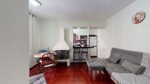 Living - Apartamento à venda Rua Estado de Israel,Vila Clementino, Zona Sul,São Paulo - R$ 609.233 - II-21215-35251 - 8