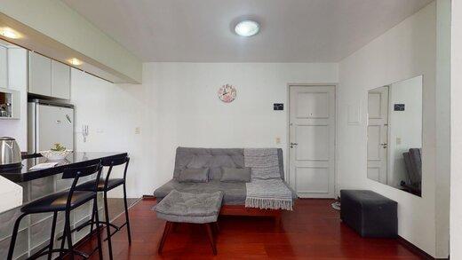 Living - Apartamento à venda Rua Estado de Israel,Vila Clementino, Zona Sul,São Paulo - R$ 609.233 - II-21215-35251 - 9